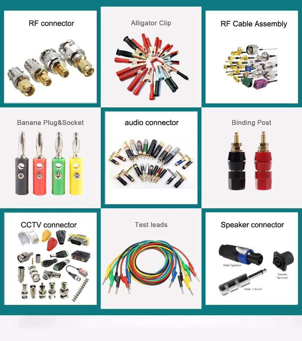 F,BNC,TNC,N,UHF,SMA connectors and adapters
